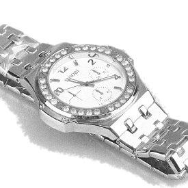 SINOBIストーン付 ウォッチ 腕時計 メンズウオッチ ファッションウオッチ ヒップホップウオッチ 大きいサイズ腕時計ストリート ダンス メタルバンド