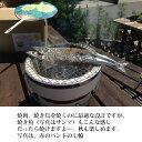 卓上焼肉七輪セット (あか)/外寸直径24×高17cm/網2枚付 珠洲木炭1回分付き トング1本付きセット (日本製・鍵主工業作)