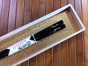 【高級箸】輪島塗箸 向かい鶴(黒・お箸1膳)−本手描蒔絵/桐箱入り/贈り物/ギフト/