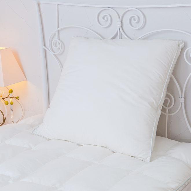 Danfill ダンフィル フィベール クッションピロー 60×60cm JPA023 枕/丸洗い可能 寝具 ウォッシャブル 快眠 安眠 まくら ふわふわ 新生活【ラッピング不可】 