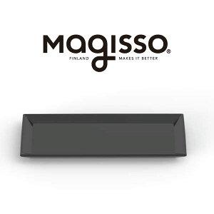 【アウトレット】【訳あり】magisso サービングプレート 28×14cm 70622 ブラック クーリングセラミック サーブウェア【訳あり品】 保冷 ひんやり【返品不可】|