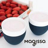 magissoマギッソCOOL-IDSHOTGRASS4Pショットグラス4個セットブラック&ホワイトテラコッタ|