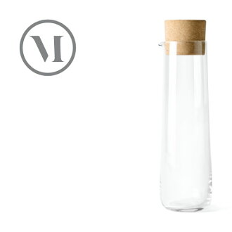 MENU New Norm Water Carafe w. 附带Cork Lid nyunomuuotakarafekoruku盖的1.2L 4684939 Dining/厨房杂货/瓶/水瓶