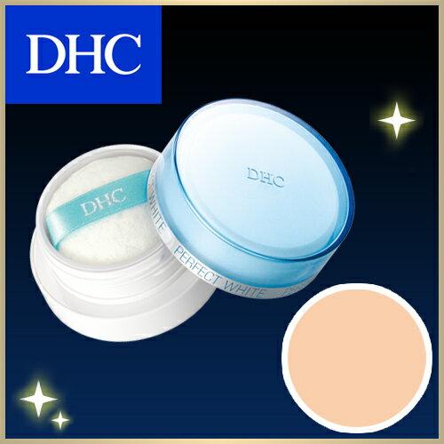 【最大P15倍以上&400pt開催】 【DHC直販化粧品】〔ヘルシー〕ひと塗りでシミ・そばかす・くすみ・毛穴をカバーする薬用美白ベースメークシリーズ。美白効果とUVカット効果!化粧直しやメークの仕上げにも。DHC薬用PWルーセントパウダー〔ヘルシー〕SPF20・PA++