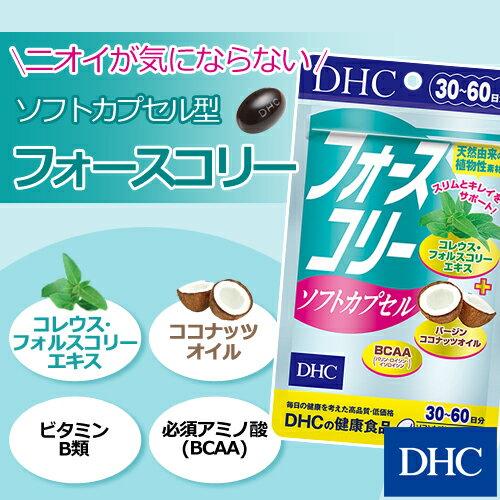 【最大P8倍以上&200pt開催】【DHC直販サプリメント】DHCの定番人気ダイエットサプリ『フォースコリー』のソフトカプセルタイプフォースコリー ソフトカプセル 30日分 well