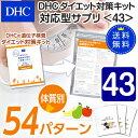 【最大P52倍以上&600pt開催】【DHC直販】【送料無料】それぞれの体質にきめ細かく対応したサプリメントダイエット対策キット対応型サプリ<43>