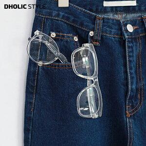 クリアスクエアメガネ・p83087 レディース 【acc】 韓国 ファッション 眼鏡 メガネ フレーム フレームメガネ 伊達メガネ ダテメガネ プラシチック サークル 丸 大きめ ビッグ ラウンド クリア