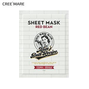 [マムズバスレシピ] レッドビーンシートマスク・48655 コスメ cosme 【SKINCARE】MomsBathRecipe パック フェイスパック マスク シートマスク マスクパック マスクシート スキンケア 韓国 韓国コスメ