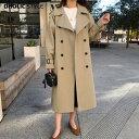 【送料無料】ロンドンダブルボタントレンチコート・p59949 【jk】【韓国 ファッション...