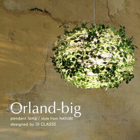 【メーカー直営店】【LED対応 ペンダントライト】 オーランド ビッグ ペンダントランプ -Orland-big pendant lamp- デザイン照明器具のDI CLASSE(ディクラッセ)【10P27May16】