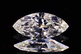 マーキーズカットダイヤモンド0.3カラットGカラーVS1シャープな輝きさん中央宝石研究所ソーティングつき