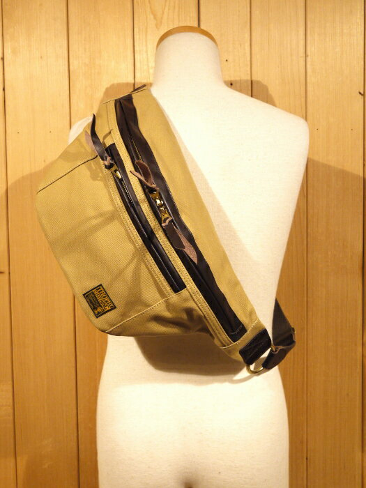 TROPHY CLOTHING トロフィークロージング DAY TRIP BAG ベージュ ボディバッグ TRB-01