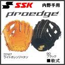 野球 SSK【エスエスケイ】一般軟式グラブ プロエッジFIT 内野手 右投げ用 4L