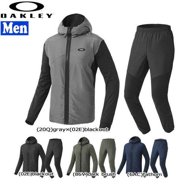スポーツウェア トレーニングウェア メンズ 上下セット オークリー オークレー OAKLEY 3RD-G DUAL ウインドウォームジャケット&パンツ 1.0