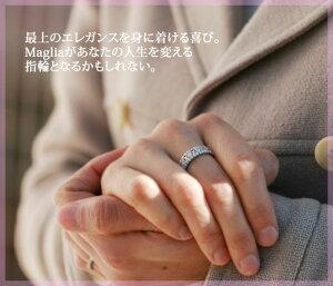 K18THJ「Maglia」リング0.7ctmodelend