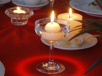 Floating Ball Candle/フローティングボールキャンドル(白)12個セット結婚式やイベントに♪大量注文OK! ※5,400円(税込)以上で送料無料(北海道/沖縄は送料別途)