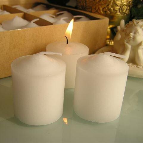 キャンドル Votive Candle 無香料 ボーティブキャンドル 24個パック 6hライト ランタンやお食事の灯りに※5,400円(税込)以上で送料無料(北海道/沖縄は送料別途)