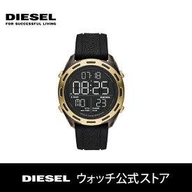 ディーゼル 腕時計 メンズ DIESEL 時計 デジタル DZ1901 クラッシャー CRUSHER 46mm 公式 2年 保証