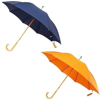 日本の職人手作り 高密度織 木棒 手開き長傘