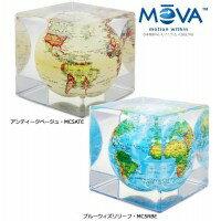 電源不要!ゆっくり回る不思議なエコ地球儀!MOVACubeグローブ12.7cm