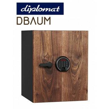 【送料無料】diplomatディプロマット社 DBAUMプレミアムセーフ タッチスクリーン&指紋認証式ロック 容量36L DBAUM500