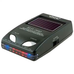 ソーラーレーダー探知機 RS-360