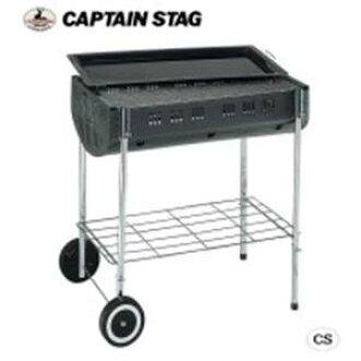 CAPTAIN STAG 오크바베큐콘로(LL)(캐스터 첨부) M-6440