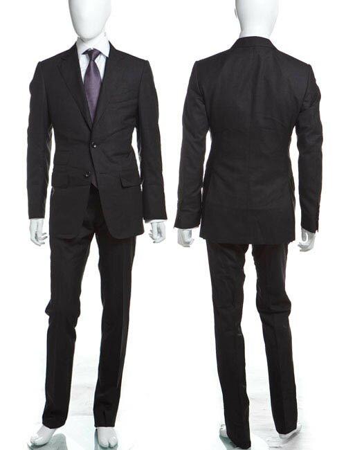 トムフォード TOM FORD トムフォード スーツ 2つボタン サイドベンツ メンズ 21BA4B 811R02 ダークグレイ 送料無料 アウトレット G-SALE 3000円OFF クーポンプレゼント