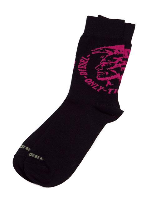 ディーゼル DIESEL ソックス 靴下 レギュラー メンズ 00CT7Q 00EWP ブラック 楽ギフ_包装 アウトレット DIESEL_PD2 3000円OFF クーポンプレゼント