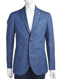 ハイドロゲン HYDROGEN ジャケット 2ボタン サイドベンツ メンズ 140304 ブルー 10%OFFクーポンプレゼント 目玉商品 【ラッキーシール対応】