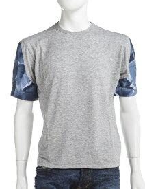 ダニエレアレッサンドリーニ DANIELEALESSANDRINI Tシャツ 半袖 丸首 メンズ M5304E5033500 グレー 送料無料 楽ギフ_包装 10%OFFクーポンプレゼント 目玉商品