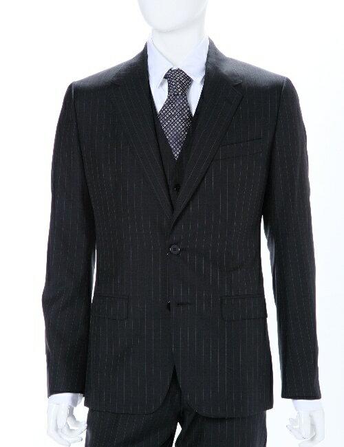 ドルガバ ドルチェ&ガッバーナ DOLCE&GABBANA 3ピーススーツ 2ボタン センターベント シングル メンズ G1SWCT FR3DO ブラック 送料無料 アウトレット 10%OFFクーポンプレゼント 【ラッキーシール対応】