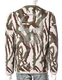 ルシアンペラフィネ lucien pellat-finet ペラフィネ セーター メンズ AM141 迷彩 10%OFFクーポンプレゼント