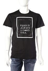 ルシアンペラフィネ lucien pellat-finet ペラフィネ Tシャツ 半袖 丸首 メンズ EVH1765 ブラック 送料無料 楽ギフ_包装 目玉商品 10%OFFクーポンプレゼント