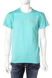 ルシアンペラフィネ lucien pellat-finet ペラフィネ Tシャツ 半袖 丸首 メンズ EVH1830 グリーン 送料無料 楽ギフ_包装 10%OFFクーポンプレゼント
