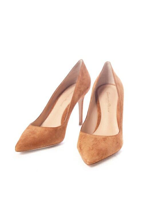 ジャンヴィトロッシ GIANVITO ROSSI パンプス ハイヒール CAMSELL 靴 レディース G24580 85RIC ブラウン 送料無料 3000円OFF クーポンプレゼント 2017SS_SALE