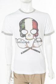 ハイドロゲン HYDROGEN Tシャツ 半袖 丸首 TENNIS メンズ FR0077 WHITE ITALY 送料無料 楽ギフ_包装 10%OFFクーポンプレゼント HYD値下