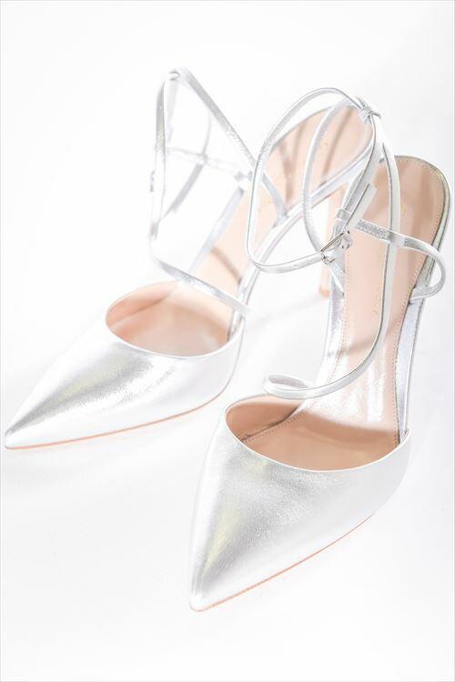 ジャンヴィトロッシ GIANVITO ROSSI ジャンヴィト ロッシ パンプス サンダル 靴 レディース G94110 METAL シルバー 送料無料 3000円OFF クーポンプレゼント SALE16AW
