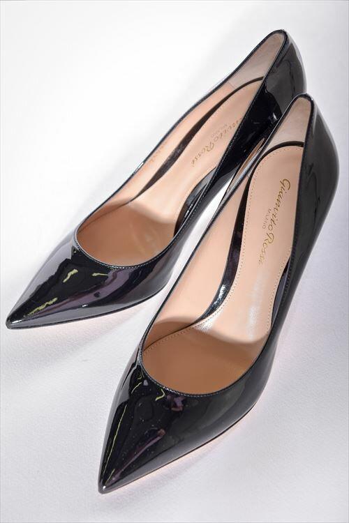 ジャンヴィトロッシ GIANVITO ROSSI ジャンヴィト ロッシ パンプス ハイヒール 靴 レディース G24580 VERNICE ブラック 送料無料 3000円OFF クーポンプレゼント SALE16AW