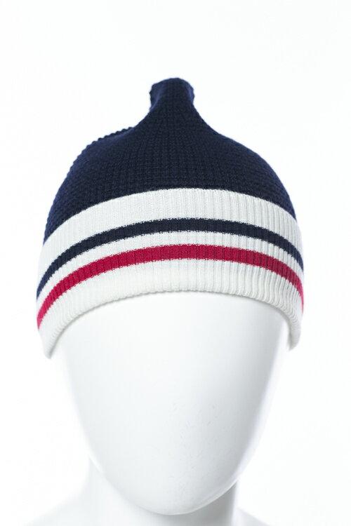 モンクレール MONCLER GB モンクレールガムブルー ニットキャップ 帽子 グッズ 0027900 09965 ネイビー 送料無料 楽ギフ_包装 10%OFFクーポンプレゼント