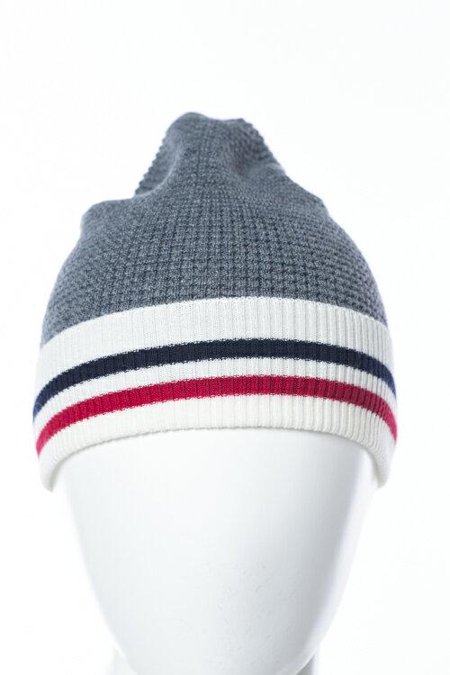 モンクレール MONCLER GB モンクレールガムブルー ニットキャップ 帽子 グッズ 0027900 09965 グレー 送料無料 楽ギフ_包装 10%OFFクーポンプレゼント
