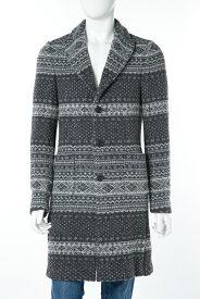ダニエレアレッサンドリーニ DANIELEALESSANDRINI コート ニットコート CAPPOTTO TREMO SF 95 メンズ T397S13173606 グレー 送料無料 10%OFFクーポンプレゼント SALE16AW2