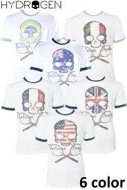 ハイドロゲン HYDROGEN Tシャツ 半袖 丸首 TENNIS テニス メンズ FR0077 送料無料 楽ギフ_包装 10%OFFクーポンプレゼント