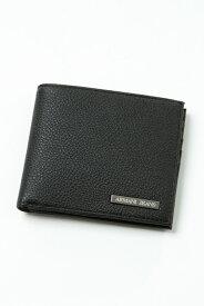 d9f979920ecc アルマーニ アルマーニジーンズ ARMANI JEANS 財布 2つ折り財布 938541 CC990 ブラック 送料無料 楽ギフ