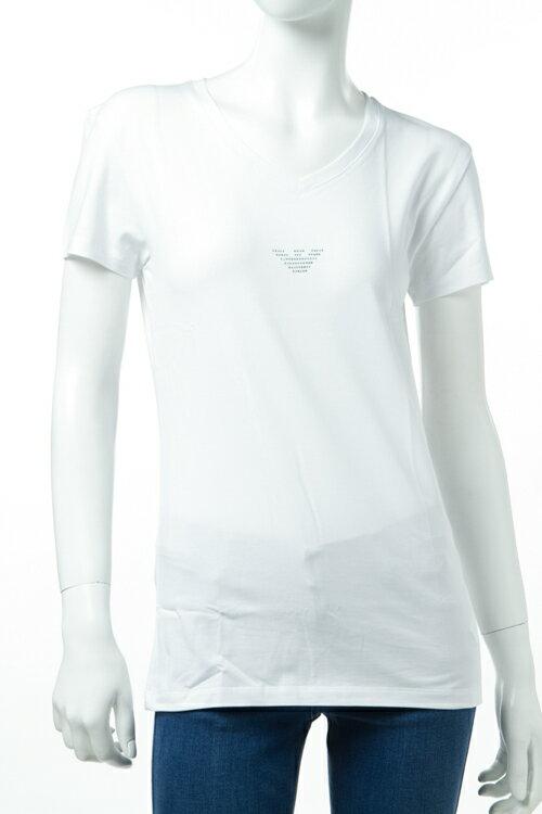 アルマーニ エンポリオアルマーニ Emporio Armani Tシャツアンダーウェア Tシャツ 半袖 Vネック レディース 163321 7P263 ホワイト 送料無料 楽ギフ_包装 3000円OFF クーポンプレゼント