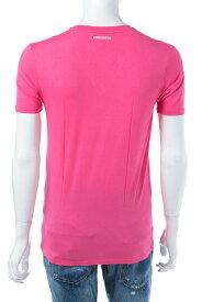 ディースクエアード DSQUARED2 Tシャツアンダーウェア Tシャツ 半袖 Vネック メンズ D9M450590 ピンク 送料無料 楽ギフ_包装 10%OFFクーポンプレゼント 【ラッキーシール対応】