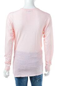 ディースクエアード DSQUARED2 Tシャツアンダーウェア ロングTシャツ ロンT 長袖 Vネック メンズ D9M600660 ライトピンク 送料無料 楽ギフ_包装 10%OFFクーポンプレゼント 【ラッキーシール対応】