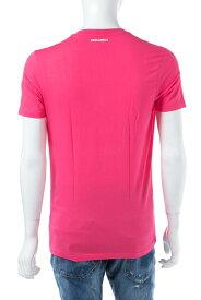 ディースクエアード DSQUARED2 Tシャツアンダーウェア Tシャツ 半袖 Vネック メンズ D9M450900 ピンク 送料無料 楽ギフ_包装 10%OFFクーポンプレゼント 【ラッキーシール対応】