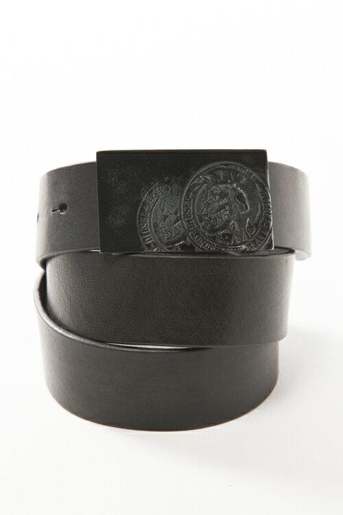 ディーゼル DIESEL ベルト レザーベルト - B-WARRIOR - belt X04190 PR227 ブラック 楽ギフ_包装 3000円OFF クーポンプレゼント