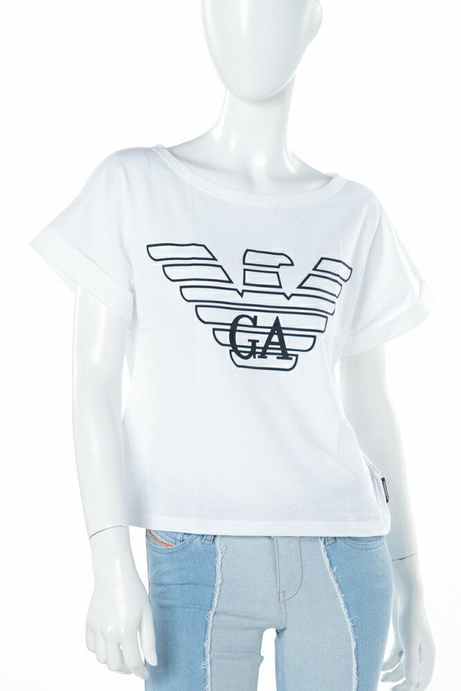 アルマーニ エンポリオアルマーニ Emporio Armani Tシャツアンダーウェア Tシャツ 半袖 丸首 レディース 164008 8P291 ホワイト 送料無料 楽ギフ_包装 3000円OFF クーポンプレゼント